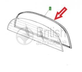 BD44393- těsnění zadního skla - coupe