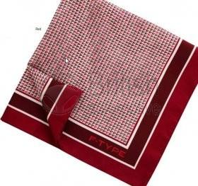 50JSTFTPSB - Hedvábný čtvercový kapesníček F-type