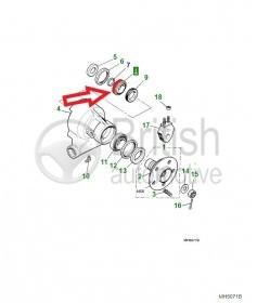 C15230- vnitřní ložisko zadní těhlice