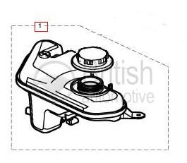 C2D36878- Expanzní nádobka pro naftové motory
