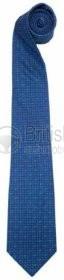 50JSTFTTB - Hedvábná kravata F-type (modrá)