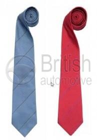 50JSTSTDB - Hedvábná kravata Jaguar (proužkovaná)