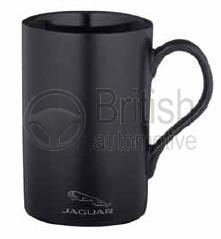 50JCEACORP - Matný hrnek Jaguar (černý)