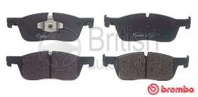 """T4N13434- přední brzdové destičky pro vozy s 17"""" koly"""