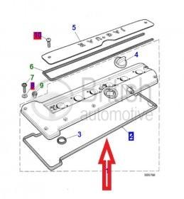 NBC2525AA- těsnění ventilového víka 3.2/4.0