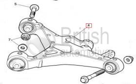 C2C21162- Pravé spodní rameno (zadní)