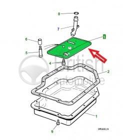 AAU6690- filtr automatické převodovky 5.3
